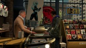 Stan Lee mit seinem obligatorischen Cameo-Auftritt und einem umproportionalen Peter Parker. © Activision